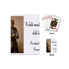 A Child is Miseducated... Playing Cards (Mini)