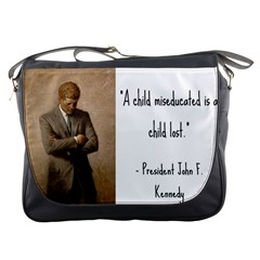 A Child is Miseducated... Messenger Bags