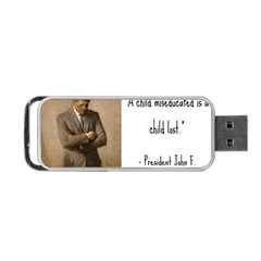 A Child is Miseducated... Portable USB Flash (Two Sides)