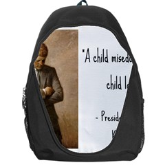 A Child is Miseducated... Backpack Bag