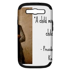 A Child is Miseducated... Samsung Galaxy S III Hardshell Case (PC+Silicone)