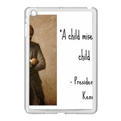 A Child is Miseducated... Apple iPad Mini Case (White)