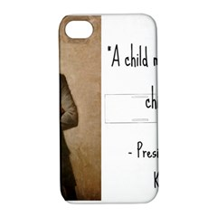 A Child is Miseducated... Apple iPhone 4/4S Hardshell Case with Stand