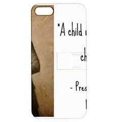 A Child is Miseducated... Apple iPhone 5 Hardshell Case with Stand