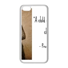 A Child is Miseducated... Apple iPhone 5C Seamless Case (White)