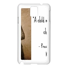 A Child is Miseducated... Samsung Galaxy Note 3 N9005 Case (White)