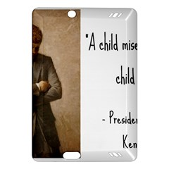 A Child is Miseducated... Amazon Kindle Fire HD (2013) Hardshell Case