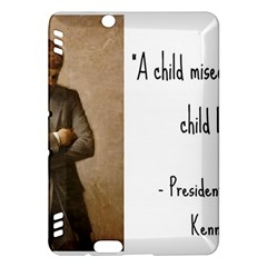 A Child is Miseducated... Kindle Fire HDX Hardshell Case