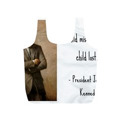 A Child is Miseducated... Full Print Recycle Bags (S)