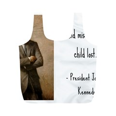 A Child is Miseducated... Full Print Recycle Bags (M)
