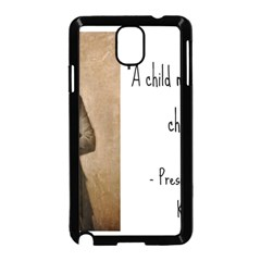 A Child is Miseducated... Samsung Galaxy Note 3 Neo Hardshell Case (Black)