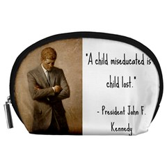 A Child is Miseducated... Accessory Pouches (Large)