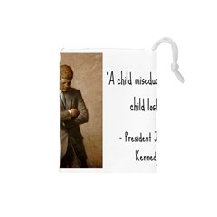 A Child is Miseducated... Drawstring Pouches (Small)