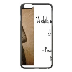 A Child is Miseducated... Apple iPhone 6 Plus/6S Plus Black Enamel Case