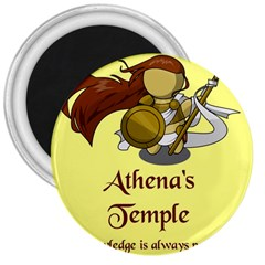 Athena s Temple 3  Magnets