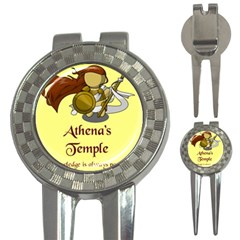 Athena s Temple 3-in-1 Golf Divots