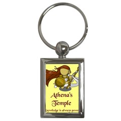 Athena s Temple Key Chains (rectangle)