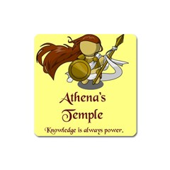Athena s Temple Square Magnet