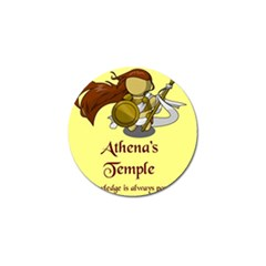 Athena s Temple Golf Ball Marker