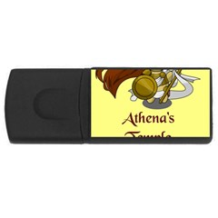 Athena s Temple USB Flash Drive Rectangular (4 GB)
