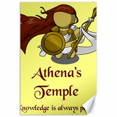 Athena s Temple Canvas 20  x 30