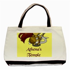Athena s Temple Basic Tote Bag (Two Sides)