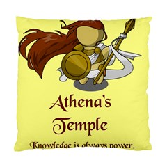 Athena s Temple Standard Cushion Case (One Side)