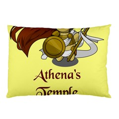 Athena s Temple Pillow Case (Two Sides)