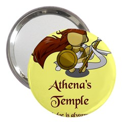 Athena s Temple 3  Handbag Mirrors