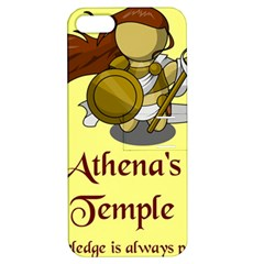 Athena s Temple Apple iPhone 5 Hardshell Case with Stand