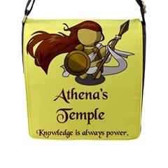 Athena s Temple Flap Messenger Bag (L)