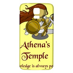 Athena s Temple Samsung Galaxy S5 Back Case (White)