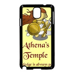 Athena s Temple Samsung Galaxy Note 3 Neo Hardshell Case (Black)