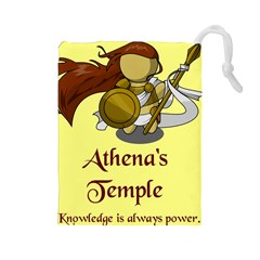 Athena s Temple Drawstring Pouches (Large)