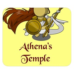 Athena s Temple Double Sided Flano Blanket (Small)
