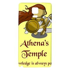 Athena s Temple Galaxy Note 4 Back Case