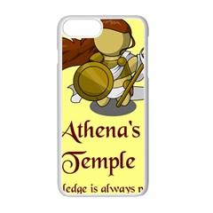 Athena s Temple Apple Iphone 7 Plus White Seamless Case