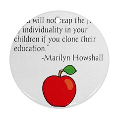 Fruit of Education Ornament (Round)