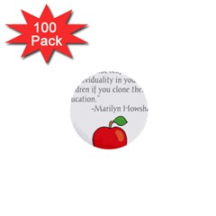 Fruit of Education 1  Mini Buttons (100 pack)