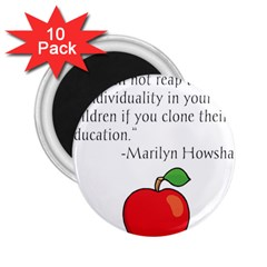 Fruit of Education 2.25  Magnets (10 pack)