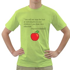 Fruit of Education Green T-Shirt