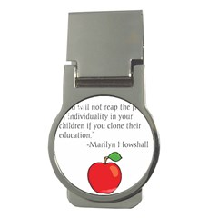 Fruit of Education Money Clips (Round)