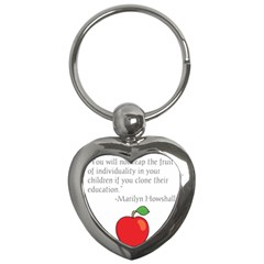Fruit of Education Key Chains (Heart)