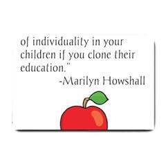 Fruit of Education Small Doormat