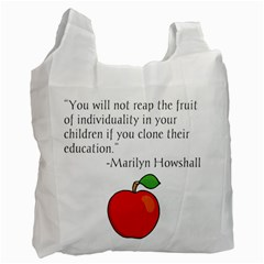 Fruit of Education Recycle Bag (One Side)