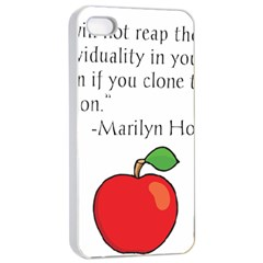 Fruit of Education Apple iPhone 4/4s Seamless Case (White)