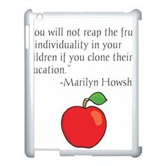 Fruit of Education Apple iPad 3/4 Case (White)
