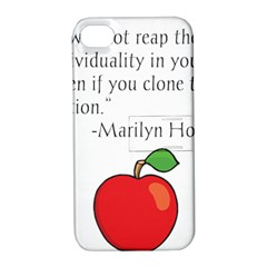 Fruit of Education Apple iPhone 4/4S Hardshell Case with Stand