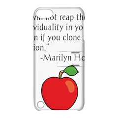 Fruit of Education Apple iPod Touch 5 Hardshell Case with Stand