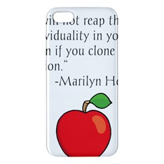 Fruit of Education Apple iPhone 5 Premium Hardshell Case
